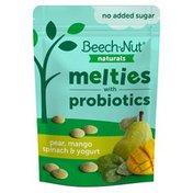 Beech-Nut Naturals Melties with Probiotics Pear, Mango, Spinach & Yogurt