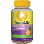 Renew Life Probiotic Sour Gummies 2 Billion