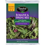 Taylor Farms Romaine & Spring Mix Lettuce