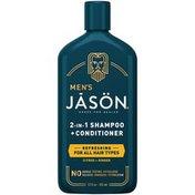 JĀSÖN Men's Refreshing 2-in-1 Shampoo + Conditioner