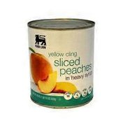 Food Lion Yellow Cling Sliced Peaches