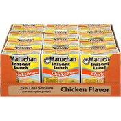Maruchan Chicken Flavor 25% Less Sodium Ramen Noodle Soup