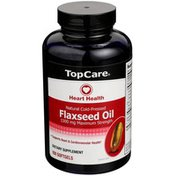 TopCare Flaxseed Oil 1300 Mg Maximum Strength Dietary Supplement