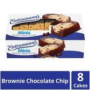 Entenmann's Minis Brownie Chocolate Chip Cakes