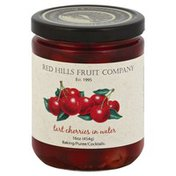 Red Hills Tart Cherries, in Water, Jar