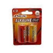 Homeline C Alkaline Batteries