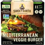 Sweet Earth Mediterranean Veggie Burger
