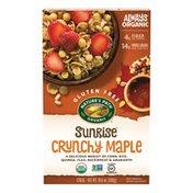 Nature's Path Organic Sunrise Crunchy Maple Cereal Gluten Free