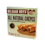 Belgian Boys All Natural Crepes