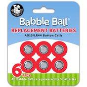 Pet Qwerks AG13 & LR44 Button Cells Babble Ball Replacement Batteries