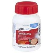 Equaline Acid Reducer + Antacid, Dual Action Complete, Chewable Tablets, Cool Mint Flavor