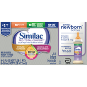 Similac Infant Formula with Iron, Milk-Based Ready to Feed, 0-12 Months