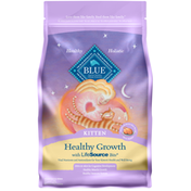 Blue Buffalo Healthy Growth Natural Kitten Dry Cat Food, Chicken & Brown Rice