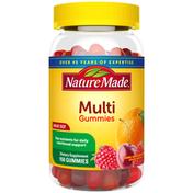 Nature Made Multivitamin Gummies - Orange, Cherry, Mixed Berry
