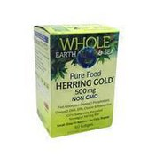 Whole Earth & Sea Herring Gold 500mg Dietary Supplement