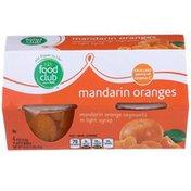 Food Club Mandarin Orange Segments In Light Syrup.