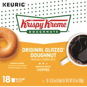 Krispy Kreme Coffee, Medium Roast, Original Glazed Doughnut