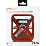 Eton Weather Radio and Portable Phone Charger, All Purpose