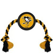 Pets First NHL Pittsburgh Penguins Puck Toy for Pets