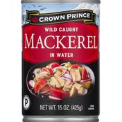 Crown Prince Mackerel in Water