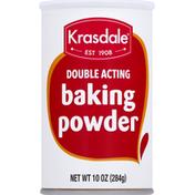 Krasdale Baking Powder, Double Acting