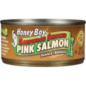 Honey Boy Hardwood Smoked Pink Salmon