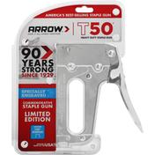Arrow Staple Gun, Heavy Duty, T50