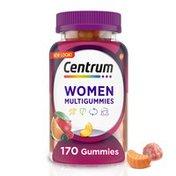 Centrum MultiGummies Women Multivitamin Fruit, MultiGummies Women Multivitamin Fruit