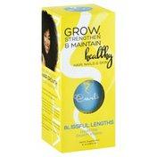 CURLS Blissful Lengths Blueberry Liquid Hair Growth Vitamin Dietary Supplement
