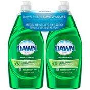 Dawn Ultra Dawn Ultra Dishwashing Liquid Dish Soap, Antibacterial Apple Blossom, 2x21.6 fl oz Dish Care