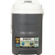 Igloo Cooler, Laguna, Charcoal, 1/2 Gallon