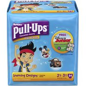 Pull-Ups Learning Designs 2T-3T Boys Training Pants