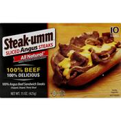 Steak-umm Steaks, Angus, Sliced