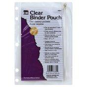 C Li Binder Pouch, Clear