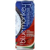 Blue Monkey Coconut Water, Coco Watermelon, Sparkling