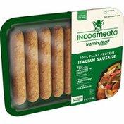 MorningStar Farms Incogmeato Plant-Based Italian Sausage, Original, Good Source of Protein