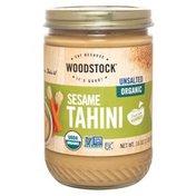 WOODSTOCK Unsalted Organic Sesame Tahini