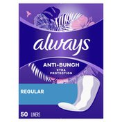 Always Anti-Bunch Xtra Protection Regular Absorbency Unscented