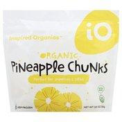 Inspired Organics Pineapple Chunks, Organic
