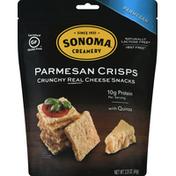 Sonoma Creamery Cheese Crisps, Parmesan