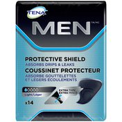 Tena Incontinence Shields For Men, Light Absorbency