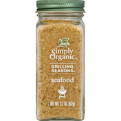 Simply Organic Grilling Seasons Seafood