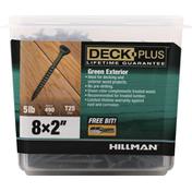 Hillman Group Screws, Green Exterior, 2 Inches