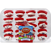 Lofthouse Sugar Cookies, Patriotic, Frosted, Mini