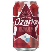 Ozarka Sparkling Water, Summer Strawberry
