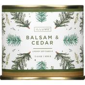 ILLUME Candle, Soy, Luxury, Balsam & Cedar