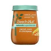 Beech-Nut Naturals Superblends Carrot, Corn & Chickpea