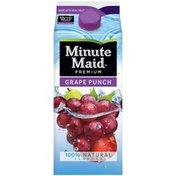 Minute Maid Grape Punch Carton