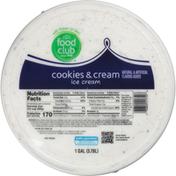 Food Club Cookies & Cream Ice Cream