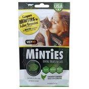 Vet IQ Dental Treats, for Cats, Minties, Chicken Flavored